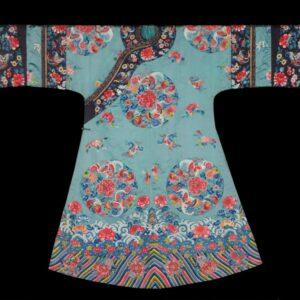 Turquoise Ladies Robe