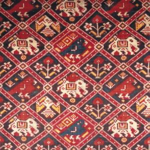 Detail of a Silk DoubleIkatPatola