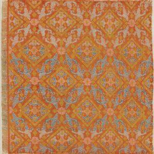 A Square Silk Brocade Panel