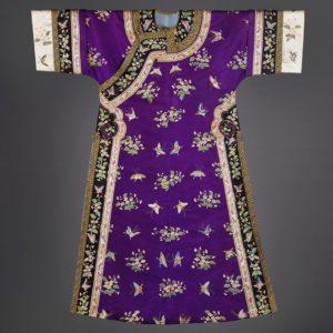 A Purple Silk Costume, changyi